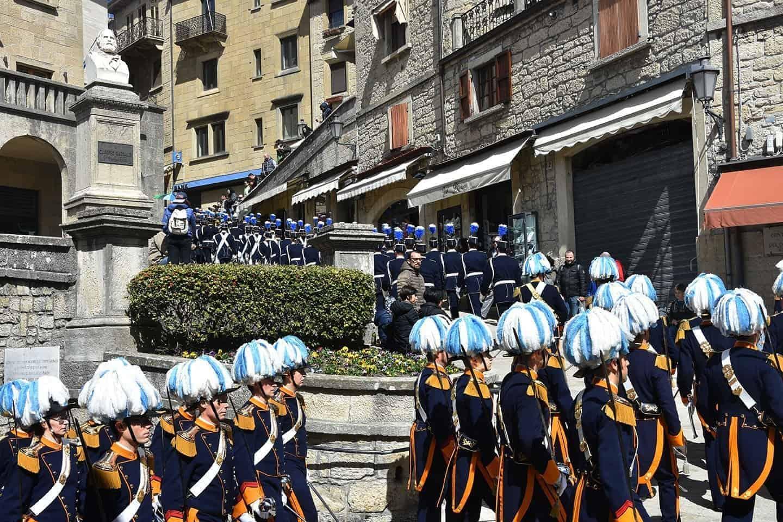 Insediamento dei Capitani Reggenti di San Marino Visite Guidate Guide Turistiche