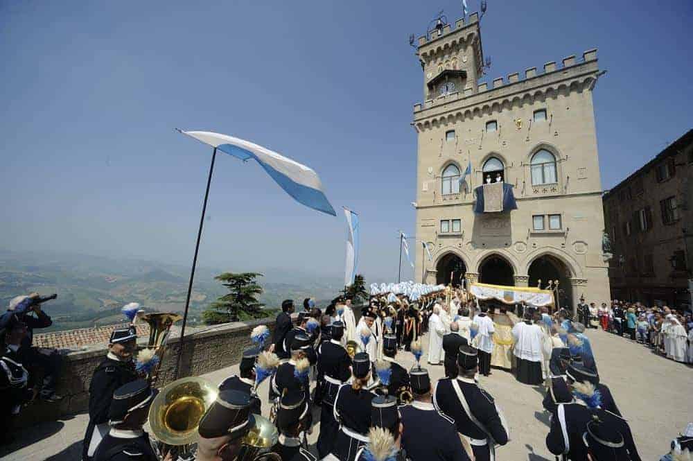 Corpus Domini San Marino visite guidate guide turistiche