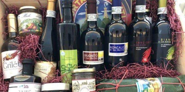 enogastronomici visite guidate degustazioni guide san marino territorio tipico corner prodotti locali emilia romagna rimini montefeltro vino farina torte olio cioccolata miele piada