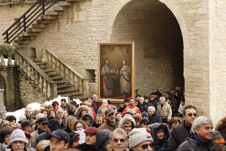 san marino santa agata compatrona guida turistica storia leggenda musei repubblica alberoni cardinale papa stato indipendente arengo