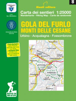 08 – Gola del Furlo – Monti delle Cesane - Urbino, Acqualagna, Fossombrone