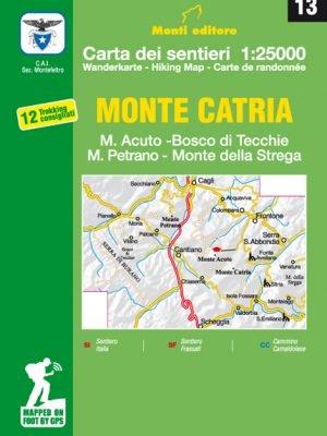 13 Monte Catria, M. Acuto, M. Petrano, Bosco di Tecchie